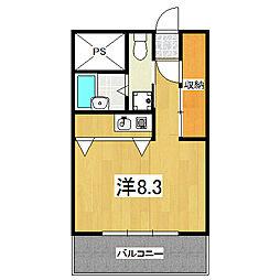 sumau[405号室]の間取り
