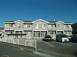 広島県福山市山手町6の賃貸アパートの外観