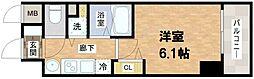 プレサンス堺筋本町フィリア[2階]の間取り