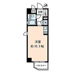 藤和シティーコープ町屋[3階]の間取り