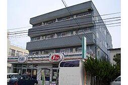 新潟県新潟市中央区鐙2丁目の賃貸マンションの外観