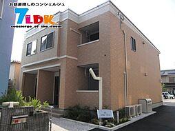 奈良県橿原市上品寺町の賃貸アパートの外観