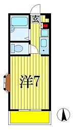 センチュリー91西船[2階]の間取り