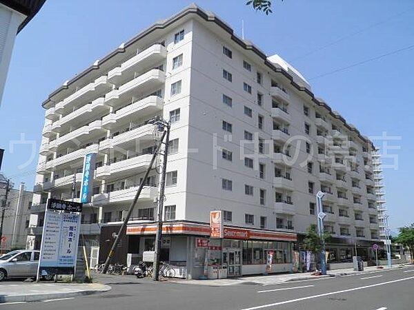 ファミール中の島 8階の賃貸【北海道 / 札幌市豊平区】