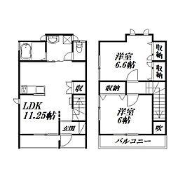 [テラスハウス] 静岡県浜松市西区入野町 の賃貸【/】の間取り