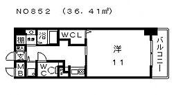 コード ナチュレ[2階]の間取り