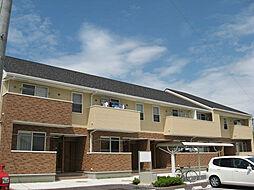 鹿児島県霧島市国分松木町の賃貸アパートの外観