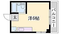 登栄ビル[2階]の間取り