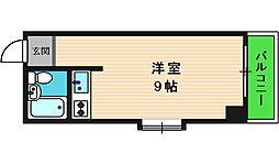 ロイヤル難波宮[5階]の間取り