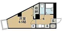東京都豊島区雑司が谷3丁目の賃貸マンションの間取り