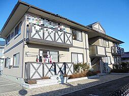 長野県長野市稲田1丁目の賃貸アパートの外観