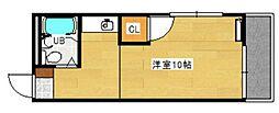 グリーンハイツ草津II[1階]の間取り