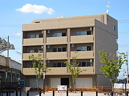 京都府京田辺市三山木高飛の賃貸マンションの外観