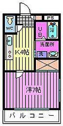 パークシティ南浦和[3階]の間取り