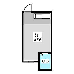 遠藤コーポ[4階]の間取り
