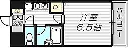 メゾンレッシュ[5階]の間取り