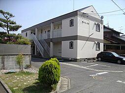 愛知県江南市前飛保町栄の賃貸アパートの外観