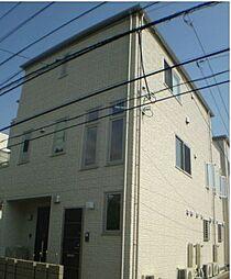 東京都品川区大井3丁目の賃貸アパートの外観