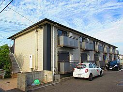 大阪府貝塚市半田の賃貸アパートの外観