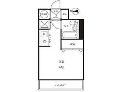 グリーンエイト登戸[1階]の間取り