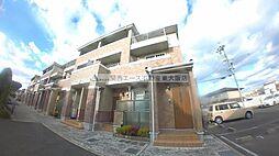 大阪府東大阪市三島2丁目の賃貸アパートの外観