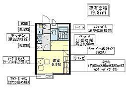 登戸[1階]の間取り