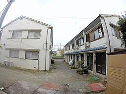 大阪府箕面市瀬川2丁目の賃貸アパートの外観