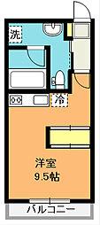 フォルテ[2階]の間取り