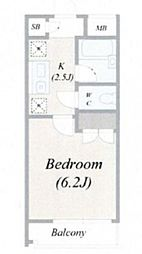ルームコロン[4階]の間取り