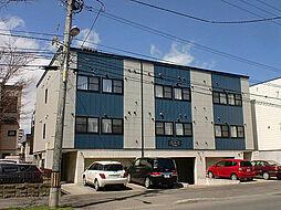 北海道札幌市東区北三十四条東17丁目の賃貸アパートの外観