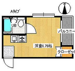 フォンタルTI[2階]の間取り