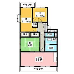 サニーコート前田 III[2階]の間取り