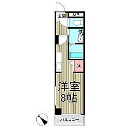 レジデンス北鎌倉[2階]の間取り