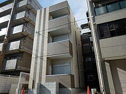 兵庫県尼崎市東園田町4丁目の賃貸アパートの外観