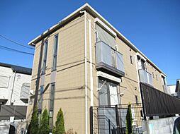 東京都練馬区石神井町7の賃貸アパートの外観