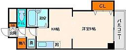 日宝ライフ桜宮[2階]の間取り