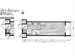 フェニックス中板橋[11階]の間取り