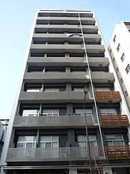 東京都港区芝浦4丁目の賃貸マンションの外観