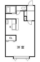 SEKIEN(セキエン)[105号室]の間取り