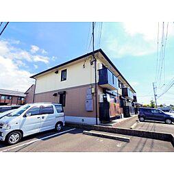 静岡県焼津市大覚寺2丁目の賃貸アパートの外観