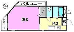 和泉マンション[301 号室号室]の間取り