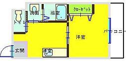 コンダクトNo.1[305号室]の間取り