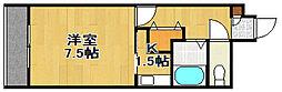 イーストフェアリー[310号室]の間取り