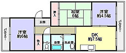 イワイマンション[1階]の間取り