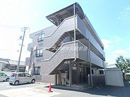 岡山県岡山市北区中井町1丁目の賃貸マンションの外観