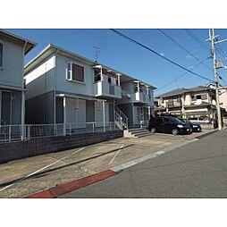 奈良県奈良市西大寺高塚町の賃貸アパートの外観