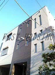 東京都渋谷区神宮前1丁目の賃貸マンションの外観