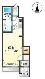 ルル −[1階]の間取り