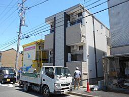 愛知県名古屋市中村区北畑町3丁目の賃貸アパートの外観