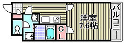 クレイノグランメゾン アオイ[302号室]の間取り
